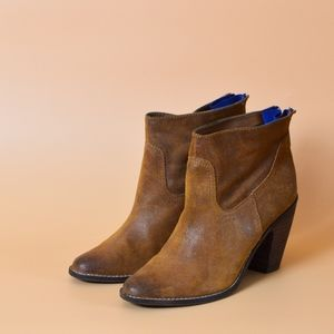 Dolce Vita Celvin suede ankle booties